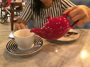 Foto 2 - Makanan(Hot Tea) di Pizza Express oleh Elvira Sutanto