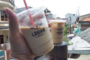 Foto 4 - Makanan(es kopi krimer) di Logika Coffee oleh Andreas ( IG : ommakanom )