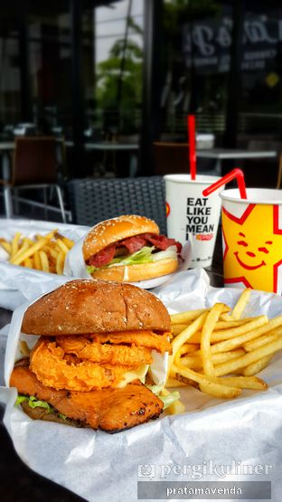 Foto 2 - Makanan di Carl's Jr. oleh Venda Intan