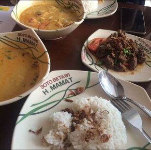 Foto - Makanan di Soto Betawi H. Mamat oleh @Itsjusterr