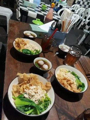 Foto 1 - Makanan di Mie Ayam Gamat oleh Prido ZH