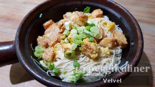 Foto 1 - Makanan(Claypot Misua Tahu Telur Asin) di Claypot Popo oleh Velvel