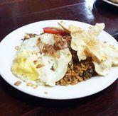 Foto Nasi Goreng Biasa di Martabak Kubang Hayuda