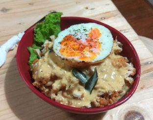 Foto 1 - Makanan(Chickpureku Salted Egg (IDR 37k) ) di Gepureku oleh Renodaneswara @caesarinodswr