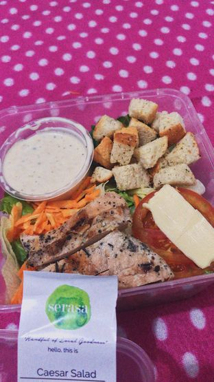 Foto - Makanan di Serasa Salad Bar oleh @qluvfood