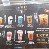 Foto menu minuman di Xing Fu Tang