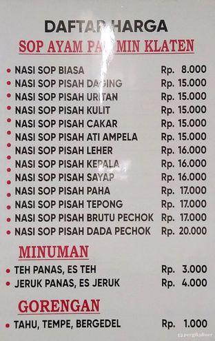 Foto review Sop Ayam Pak Min Klaten oleh @yoliechan_lie  4