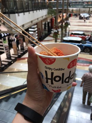 Foto 1 - Makanan di Holdak Crispy Chicken oleh Yohanacandra (@kulinerkapandiet)