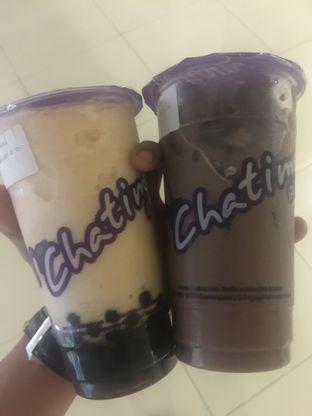 Foto - Makanan(Tropical & Hazelnut chocolate Milk Tea) di Chatime oleh @muskEATeers