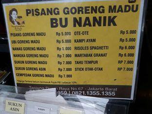 Foto review Pisang Goreng Madu Bu Nanik oleh nita febriani 3