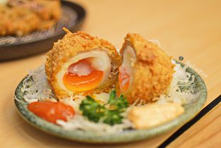 Foto 3 - Makanan(Piyo Piyo Menchi) di Kimukatsu oleh Lastia @tasteintrip