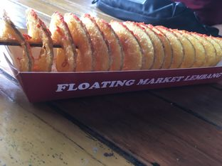 Foto review Twisted Potato - Floating Market oleh Prido ZH 1