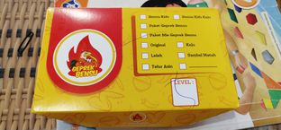 Foto review Geprek Bensu oleh Pinasthi K. Widhi 2