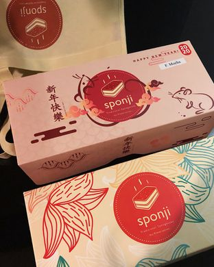 Foto review Sponji Traditional Spongecake oleh Claudia @claudisfoodjournal 2