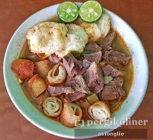 Foto 2 - Makanan di Soto Mie Daging Sapi oleh Asiong Lie @makanajadah