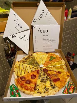 Foto 1 - Makanan di Sliced Pizzeria oleh Levina JV (IG : @levina_eat & @levinajv)