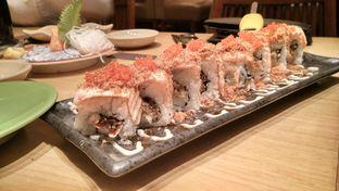 Foto 1 - Makanan(Aburi salmon roll) di Sushi Tei oleh Shabira Alfath