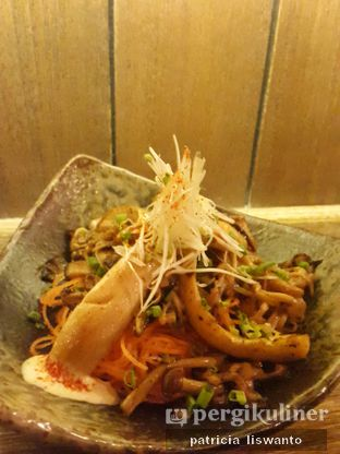 Foto 1 - Makanan(Assorted Mushroom Garlic Butter) di Fujin Teppanyaki & Japanese Whisky oleh Patsyy