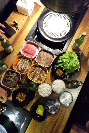 Foto 2 - Makanan di Cha Ra Da Korean BBQ oleh Jane Rifana