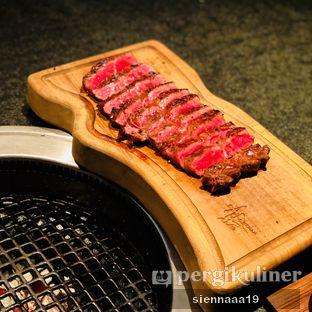Foto 7 - Makanan(Premium cuts flat iron) di AB Steakhouse by Chef Akira Back oleh Sienna Paramitha