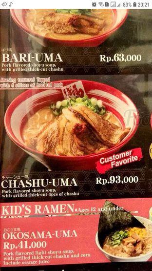 Foto 2 - Makanan(Harusnya kayak gini di menunya) di Bariuma Ramen oleh Johana fe