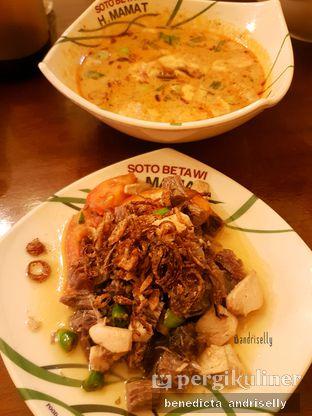 Foto 2 - Makanan di Soto Betawi H. Mamat oleh ig: @andriselly