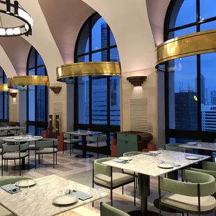 Foto 9 - Interior di Mare Nostrum - Grand Sahid Jaya Hotel oleh Della Ayu