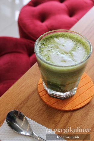 Foto 1 - Makanan(Nokcha Latte) di Nokcha Cafe oleh foodinrupiah
