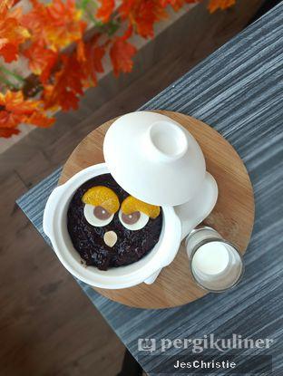 Foto 2 - Makanan(Owl Black Rice With Milk) di Milky Bean oleh JC Wen