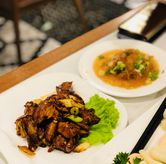 Foto roasted beijing duck meat di May Star