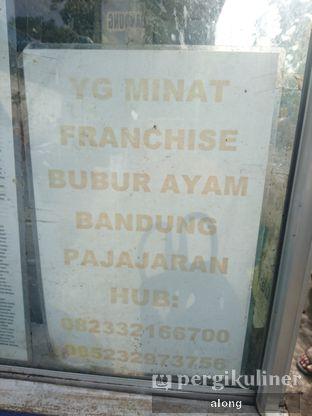 Foto 5 - Interior(Kalo2 ada yg minat 😂👍) di Bubur Ayam Bandung Pajajaran oleh #alongnyampah