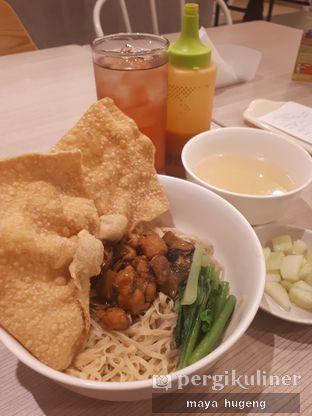 Foto - Makanan(Bakmi GM pangsit goreng + es teh tawar) di Bakmi GM oleh maya hugeng