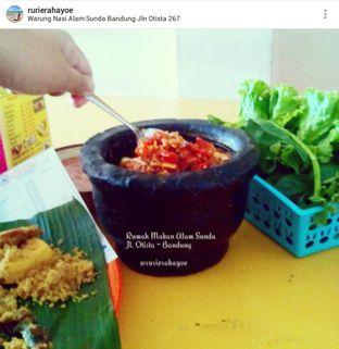 Foto 3 - Makanan(Sambel Terasi + Lalab Komplit) di Warung Nasi Alam Sunda oleh Rury Rahayu Dee