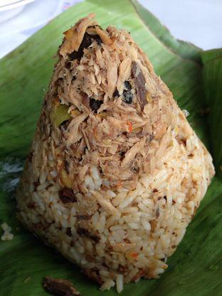 Foto 3 - Makanan(Nasi Tutug Oncom) di Sate Maranggi Haji Yetty oleh awakmutukangmakan
