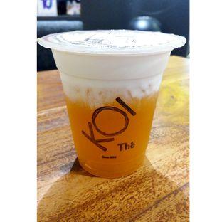 Foto - Makanan(Peach Macchiato ) di KOI The oleh melisa_10