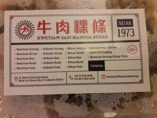 Foto review Kwetiaw Sapi Mangga Besar 78 oleh Michael Wenadi  2