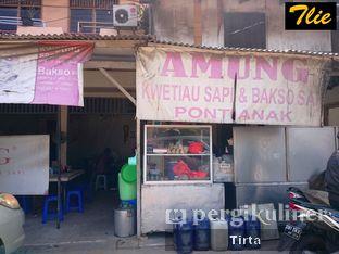 Foto 2 - Eksterior(Outlet Mangga Dua) di Amung Kwetiau & Bakso Sapi oleh Tirta Lie