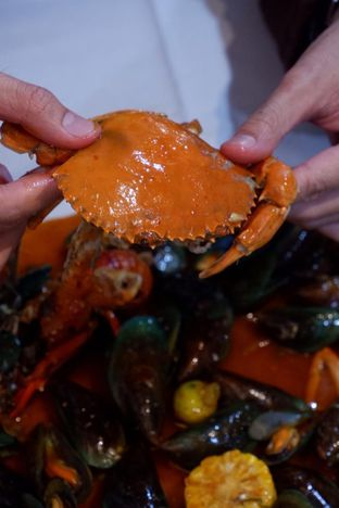 Foto 2 - Makanan di Perang Kerang - Barbarian Seafood House Restaurant oleh yudistira ishak abrar