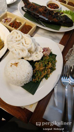 Foto 2 - Makanan(Ayam Betutu, Nasi Lawar Bali) di Bebek Tepi Sawah oleh Saepul Hidayat