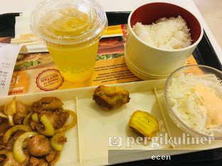 Foto review HokBen (Hoka Hoka Bento) oleh @Ecen28  2