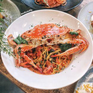 Foto 5 - Makanan(Tomato cream crab pasta) di Kamakura Japanese Cafe oleh Stellachubby