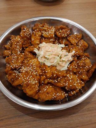 Foto 2 - Makanan(Chicken gangjeong) di Tteokbokki Queen oleh Lely08