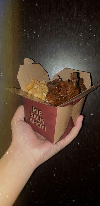 Foto Makanan di Mie Saus Ahoy