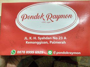 Foto review Pondok Raymon oleh Athifa Rahmah 2