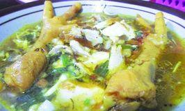 Soto Ayam Ceker Lamongan