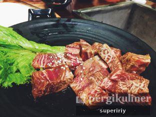 Foto 1 - Makanan(wagyu samgaksal) di Sadang Korean BBQ oleh @supeririy
