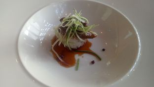 Foto 7 - Makanan(Foie Gras Steak & Onigiri Yaki) di Enmaru oleh Jocelin Muliawan