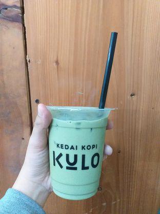 Foto 2 - Makanan(Es Matcha Latte) di Kedai Kopi Kulo oleh Qorry Ayuni