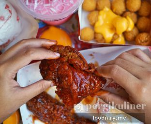 Foto 1 - Makanan di Richeese Factory oleh @foodiaryme   Khey & Farhan