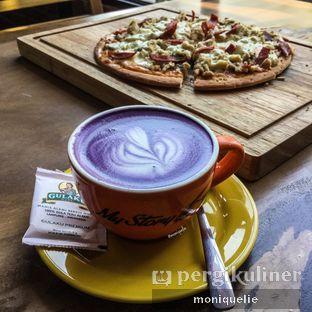 Foto 4 - Makanan(Taro Latte) di My Story oleh Monique @mooniquelie @foodinsnap